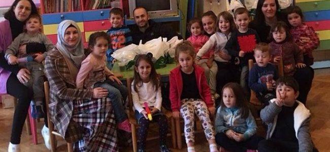 Подгорка во посета на детската градинка Јасна Ристеска-Росица Охрид