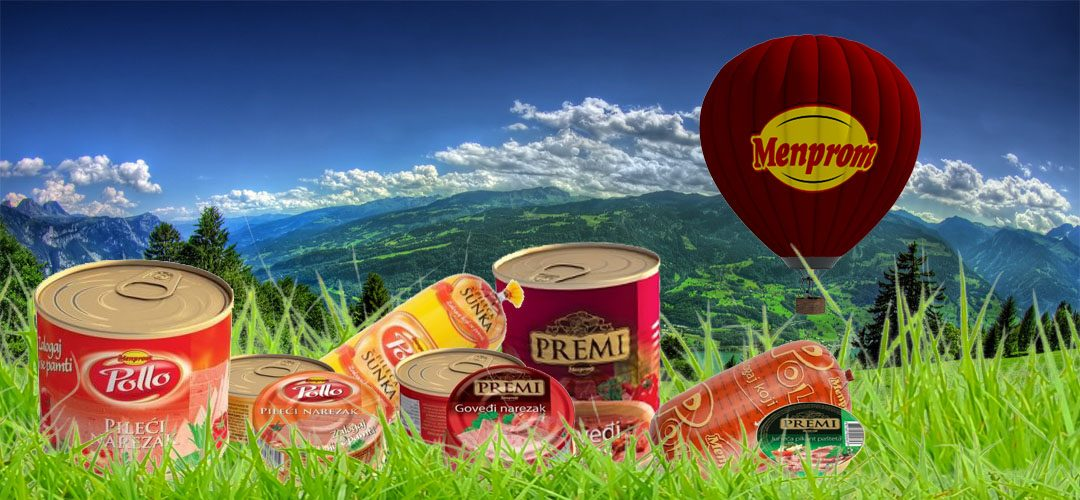 Производи од брендот на Менпром